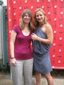 Zoe Bell and Tanya Hanson Photo by: Sandra Carr