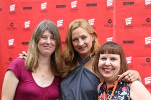 Tanya Hanson, Zoe Bell and Sandra Carr striking a pose on the red carpet during the 22nd Annual Florida Film Festival at the Enzian Theater in Maitland, Fla. Photo by: Samantha Laine