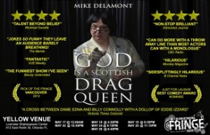 God is a Scottish Drag Queen - Image courtesy of Mike Delamont