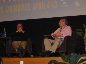 Paul Sorvino during his Q&A at the 23rd Annual Florida Film Festival.                                                  Photo by Sandra Carr