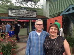 My husband Dan and I attended an evening with Bob Balaban, featuring Gosford Park during the 24th Annual Florida Film Festival.