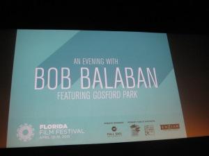 An Evening with Bob Balaban Photo by: Sandra Carr