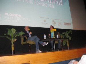 Bob Balaban participates in a Q&A during the Florida Film Festival. Photo by: Sandra Carr