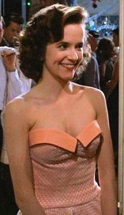 Lea Thompson Wearing Prom Dress