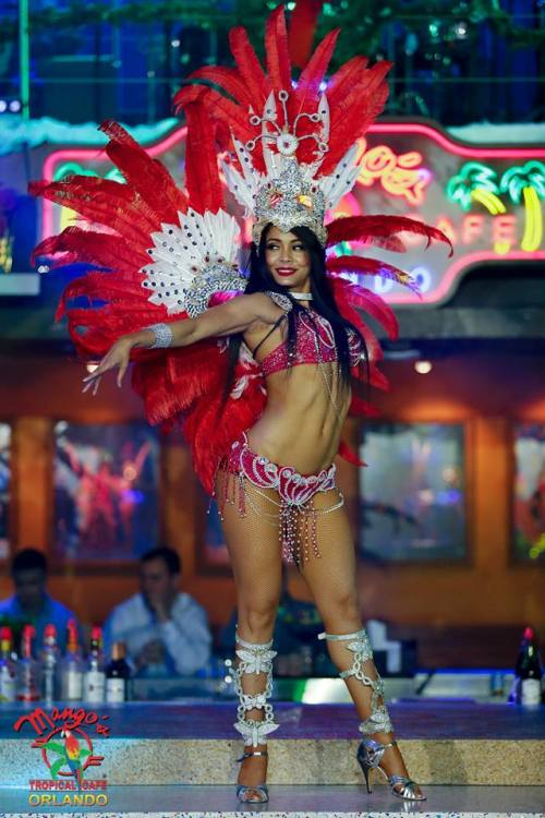 Mango's Tropical Cafe Showgirl