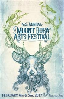 42nd Annual Mount Dora Arts Festival Poster