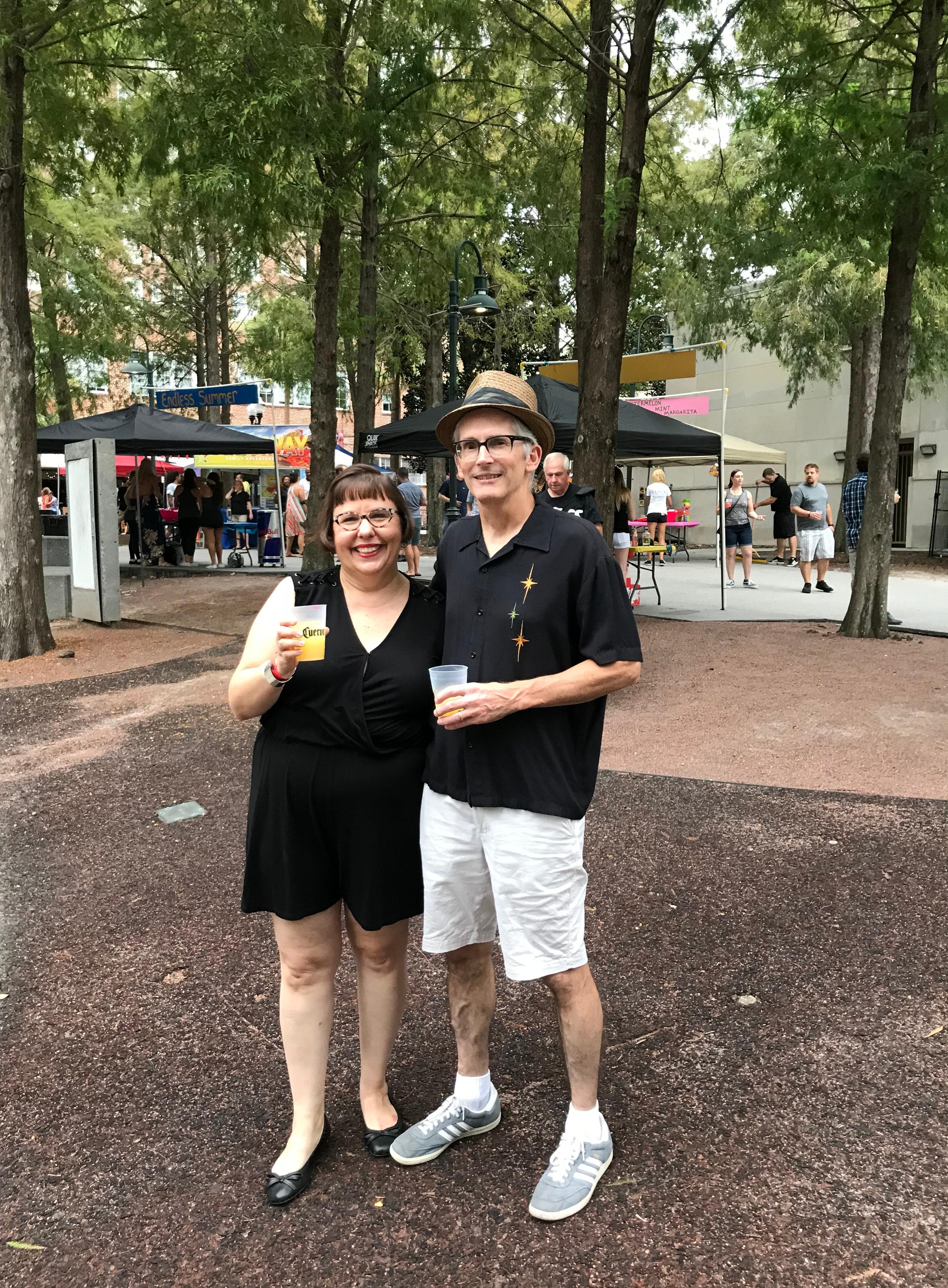 Dan and Sandra at MargaritaFest