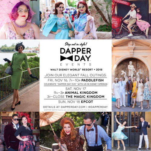 Dapper Day Fall 2018