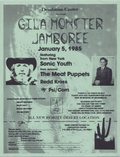 Gila Monster Jamboree