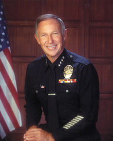 LAPD Chief of Police Daryl Gates