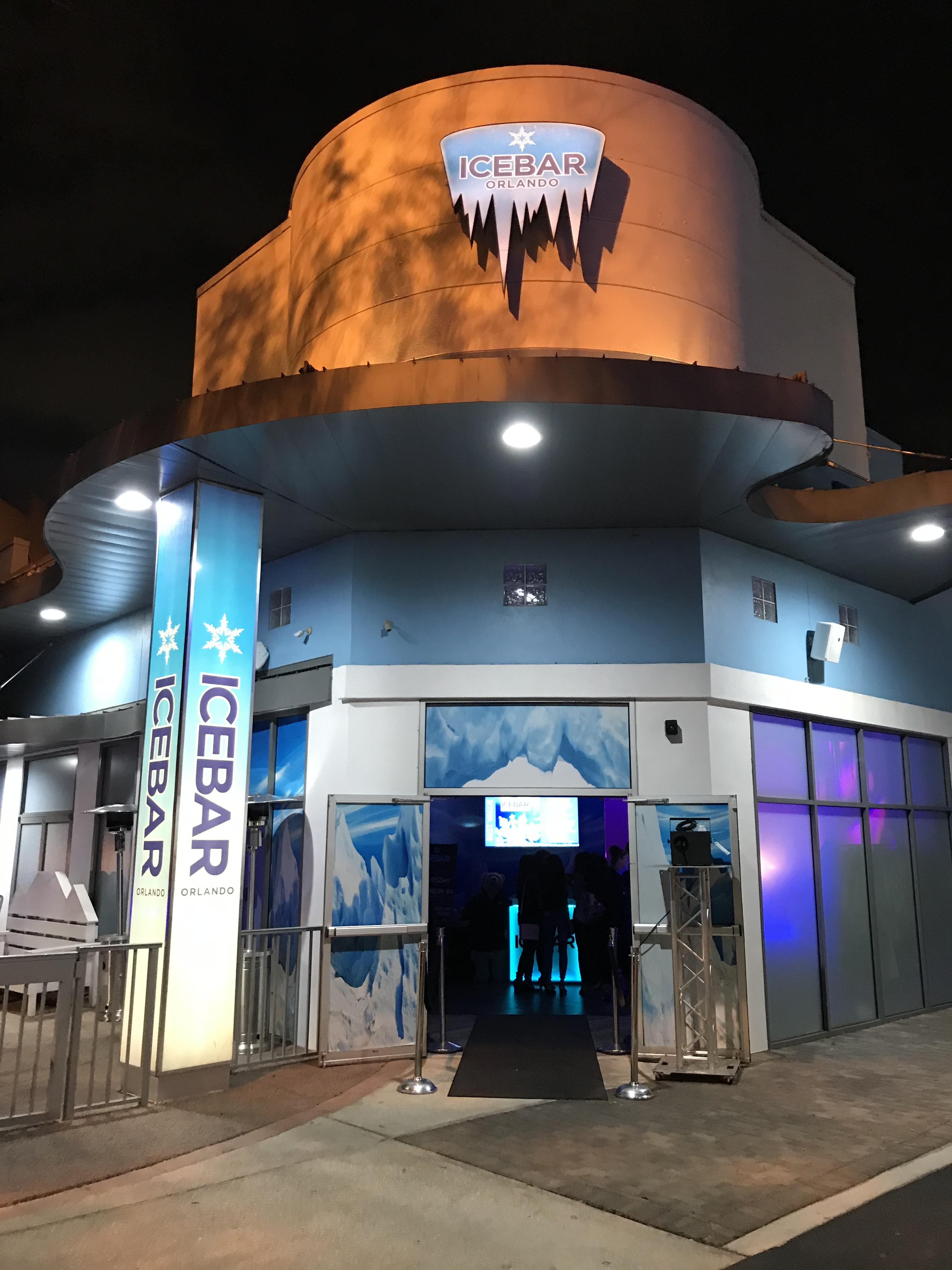 ICEBAR Orlando's Front Entrance