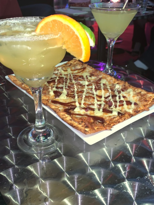 Margarita, Ice Queen and BBQ Flatbread_Carrie's Photo