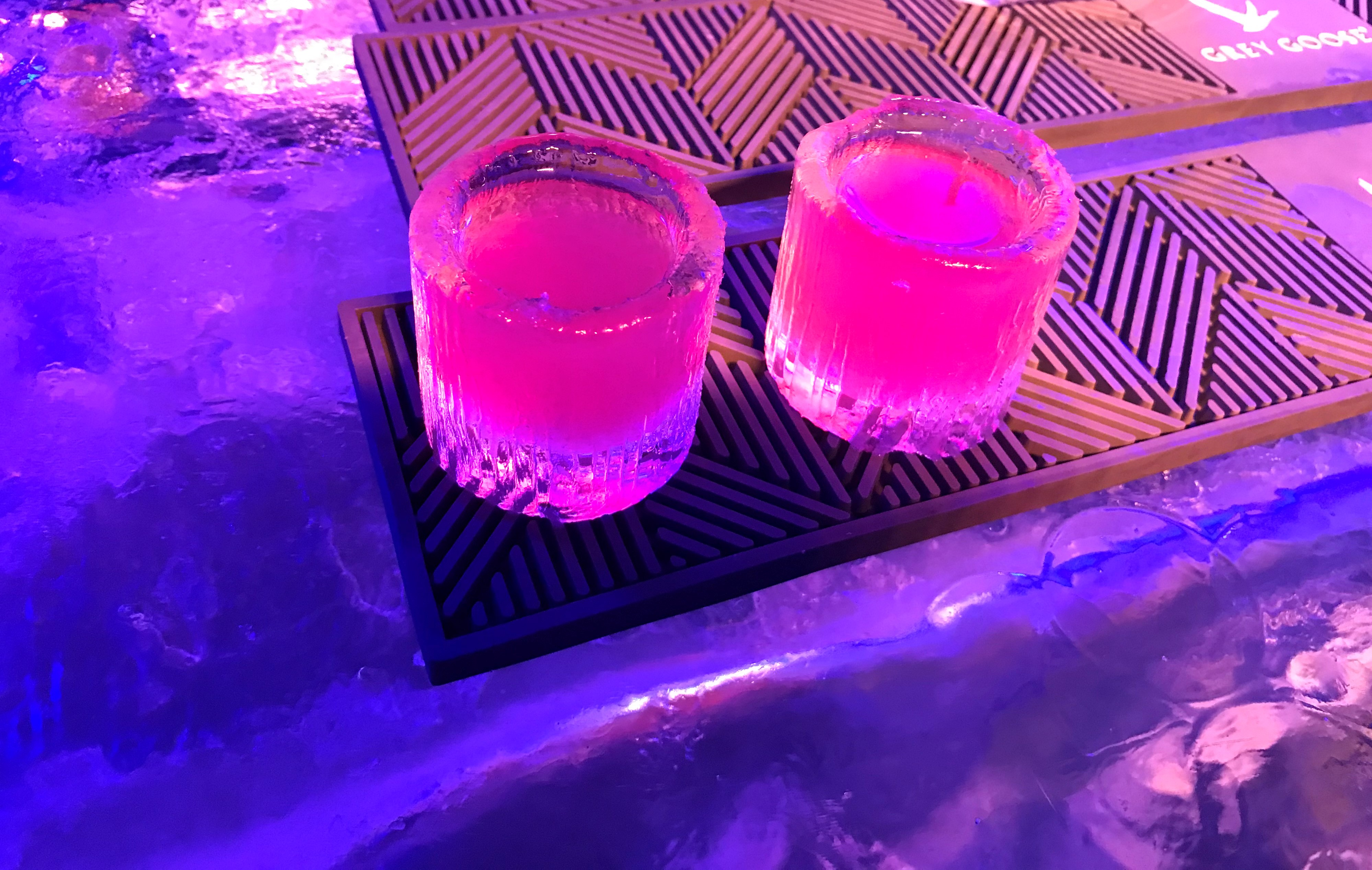Polar Berry Freeze Shots